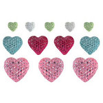 We R Memory Keepers - Love Struck Collection - Heart Gumdrop Brads