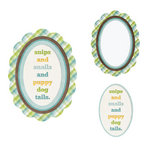 We R Memory Keepers - Baby Mine Collection - Embossed Frames - Snips and Snails