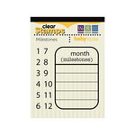 We R Memory Keepers - Baby Mine Collection - Clear Acrylic Stamps - Milestones