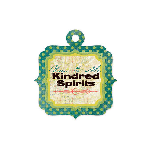 We R Memory Keepers - Anthologie Collection - Embossed Tags - Kindred Spirits