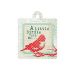 We R Memory Keepers - Anthologie Collection - Embossed Tags - Little Birdy