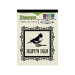 We R Memory Keepers - Anthologie Collection - Clear Acrylic Stamps - Happy Day