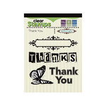 We R Memory Keepers - Anthologie Collection - Clear Acrylic Stamps - Thank You