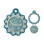 We R Memory Keepers - Embossed Tags - Mini Frames - Let It Snow