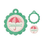 We R Memory Keepers - Embossed Tags - Mini Frames - Spring Showers