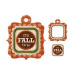 We R Memory Keepers - Embossed Tags - Mini Frames - Fall