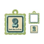 We R Memory Keepers - Embossed Tags - Mini Frames - 2 Of Us