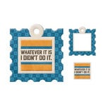 We R Memory Keepers - Embossed Tags - Mini Frames - I Didn't Do It