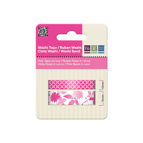 We R Memory Keepers - Washi Tape - Pink