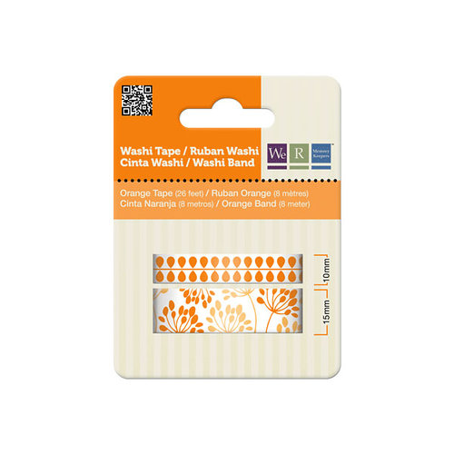 We R Memory Keepers - Washi Tape - Orange