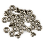 We R Memory Keepers - Bulk Metal Eyelets - Nickel