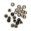 We R Memory Keepers - 3/16 Eyelets and Washers - Brass