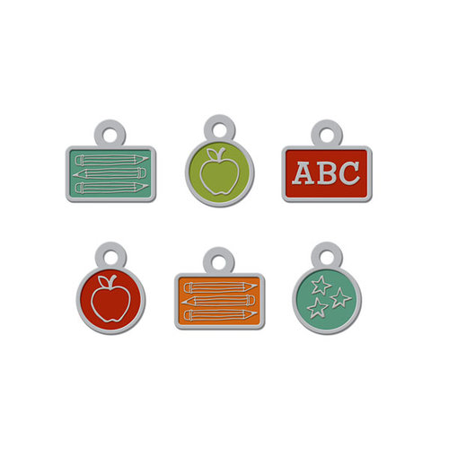 We R Memory Keepers - Hall Pass Collection - Metal Charms
