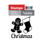 We R Memory Keepers - Yuletide Collection - Christmas - Clear Acrylic Stamps - Christmas