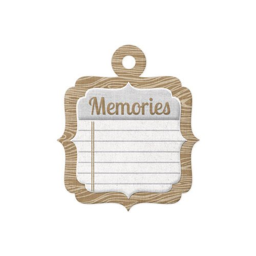 We R Memory Keepers - Yuletide Collection - Christmas - Embossed Tags - Memories