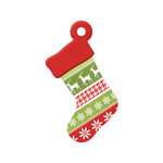 We R Memory Keepers - Yuletide Collection - Christmas - Embossed Tags - Stocking