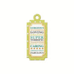 We R Memory Keepers - For the Record Collection - Embossed Tags - Gorgeous