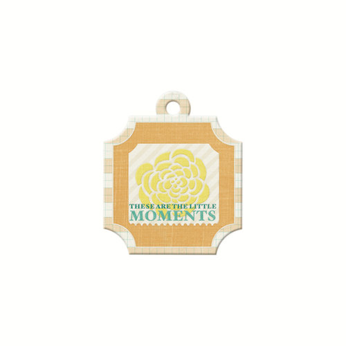 We R Memory Keepers - For the Record Collection - Embossed Tags - Moments