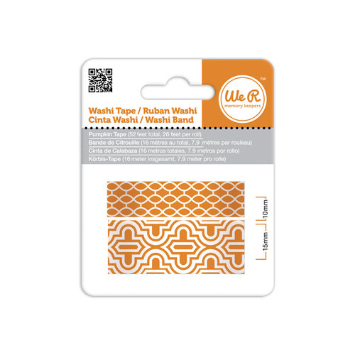 We R Memory Keepers - Washi Tape - Pumpkin