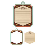 We R Memory Keepers - Country Livin' Collection - Embossed Tags - Mini Frames - Journaling