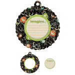 We R Memory Keepers - Storytime Collection - Embossed Tags - Mini Frames - Imagine