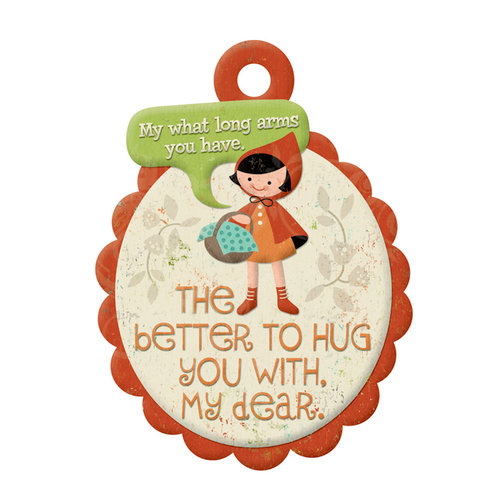 We R Memory Keepers - Storytime Collection - Embossed Tags - My Dear