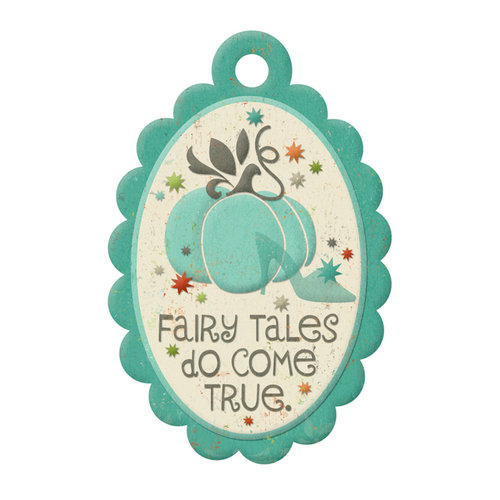 We R Memory Keepers - Storytime Collection - Embossed Tags - Fairy Tales