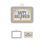 We R Memory Keepers - Bewitched Collection - Embossed Tags - Mini Frames - Happy Halloween