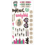 We R Memory Keepers - It Factor Collection - Printed Wood Stickers