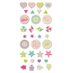 We R Memory Keepers - Clearly Bold Collection - Wood Stickers