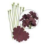 We R Memory Keepers - Crepe Paper Flower Kit - Brown