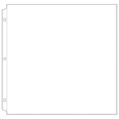 We R Memory Keepers - Page Protectors -12x12 Three Ring