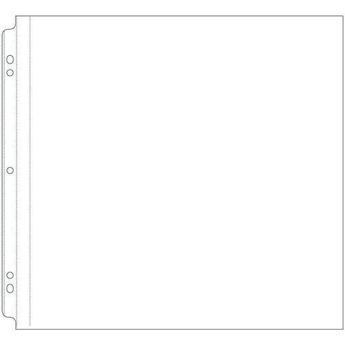 Memory Keepers Sheet Protector Refills - 12 x 12 Post