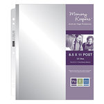 We R Memory Keepers - Page Protectors - 8.5x11 Inch - Fits 8.5x11 Inch Post Bound Albums