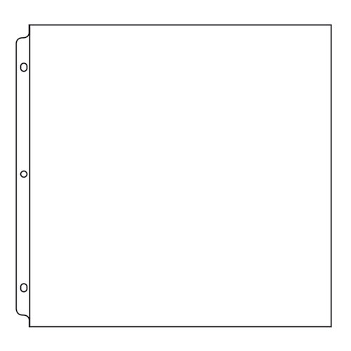 We R Memory Keepers - Page Protectors - 12 x 12 Three Ring - 50 Pack