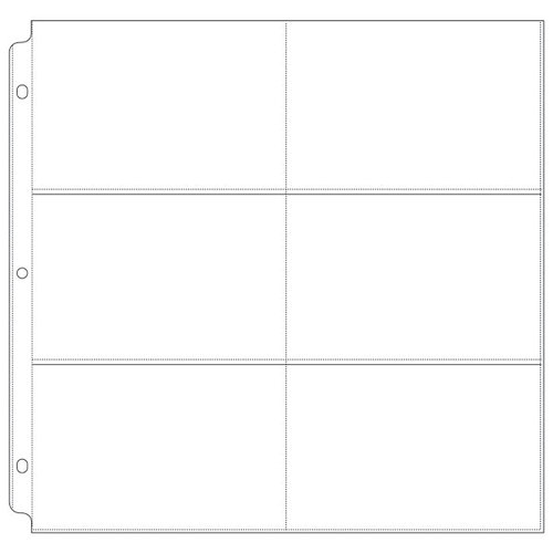 We R Memory Keepers - 12 x 12 Page Protectors - 6 Up - 4 x 6 Inch Photo Sleeves - 50 Pack