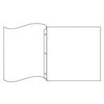 We R Memory Keepers - 12 x 12 Page Protectors - Flush Bound - 5 Pack