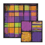 We R Memory Keepers - Black Out Halloween Collection - 12 x 12 Double Sided Paper - Lurch, CLEARANCE