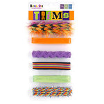 We R Memory Keepers - Black Out Halloween Collection - Trims and Ribbons, CLEARANCE