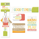 We R Memory Keepers - Dip Sticks - Tags - Friends, BRAND NEW