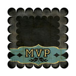 We R Memory Keepers - MVP Collection - 12 x 12 Die Cut Paper - Ruth, CLEARANCE