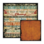 We R Memory Keepers - MVP Collection - 12 x 12 Double Sided Paper - Mantle