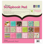 We R Memory Keepers - Tiffanys Collection - 12 x 12 Designer Scrapbook Pad