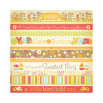 We R Memory Keepers - Twirl Collection - 12 x 12 Glitter Paper - Sweet Things, CLEARANCE