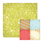 We R Memory Keepers - Twirl Collection - 12 x 12 Double Sided Paper - Little Bird, CLEARANCE