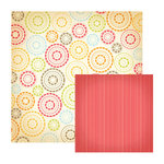 We R Memory Keepers - Twirl Collection - 12 x 12 Double Sided Paper - Twirly, CLEARANCE