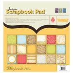 We R Memory Keepers - Twirl Collection - 12 x 12 Designer Scrapbook Pad