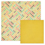 We R Memory Keepers - 72 and Sunny Collection - 12 x 12 Double Sided Paper - Summer, CLEARANCE
