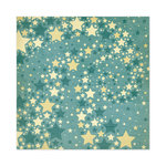 We R Memory Keepers - Old Glory Collection - 12 x 12 Glitter Paper - Firecracker