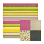 We R Memory Keepers - Retro Glam Collection - 12 x 12 Double Sided Paper - Jacqueline
